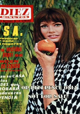 Marisa Mell Diez Minutos 1967 Front Cover