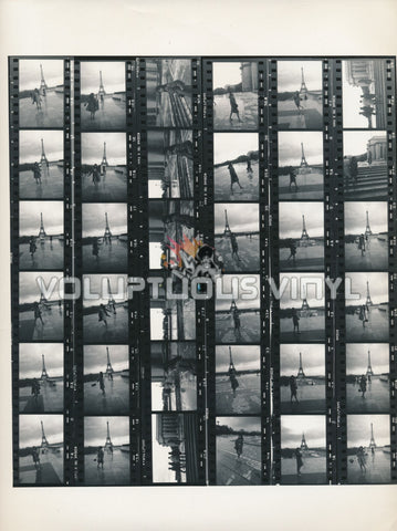 Marisa Mell Eiffel Tower Paris France contact sheet