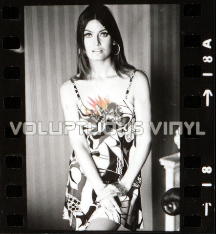 Marisa Mell 70s Spaghetti Dress