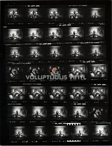 Marisa Mell Italian Mural Contact Sheet