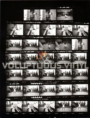 Marisa Mell Italian Courtyard Villa Contact Sheet
