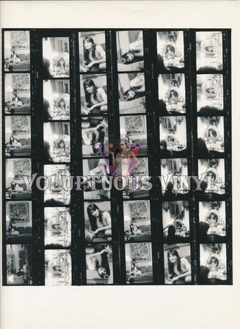 Marisa Mell Contact Sheet - Mirror Mirror