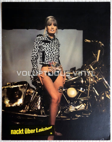Marisa Mell - One On Top Of The Other - German Lobby Card - Front