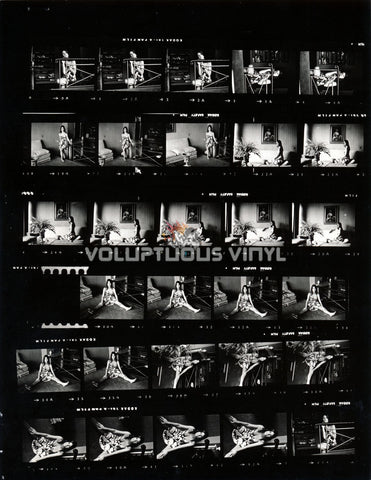 Marisa Mell Spaghetti Strap Dress Part II Contact Sheet