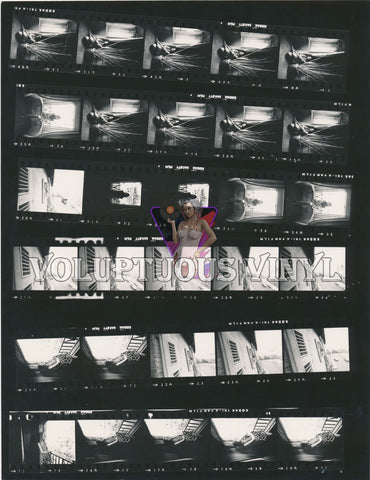 Marisa Mell Contact Sheet Italian Window Sill