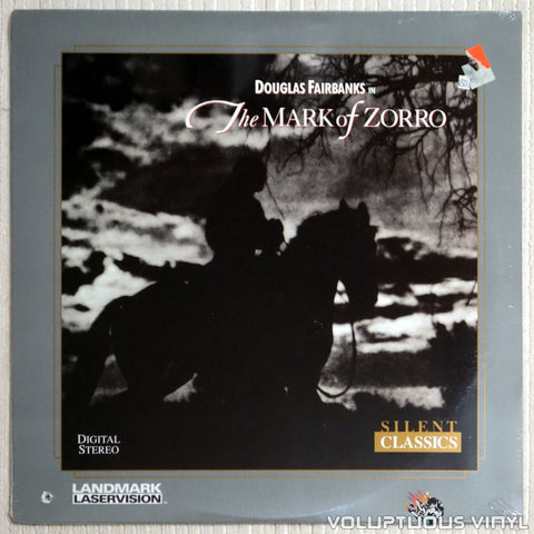 Mark of Zorro - LaserDisc - Front Cover
