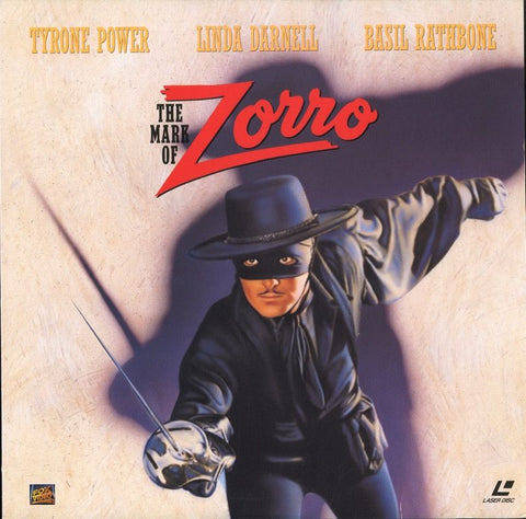 Mark of Zorro, The (1940) LaserDisc