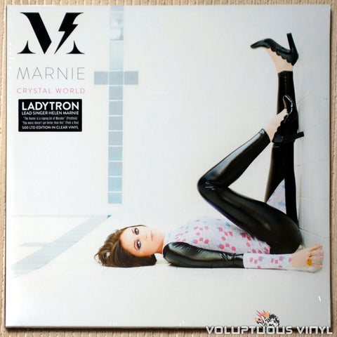 Marnie – Crystal World (2018) 2xLP, Clear Vinyl, Europe Press
