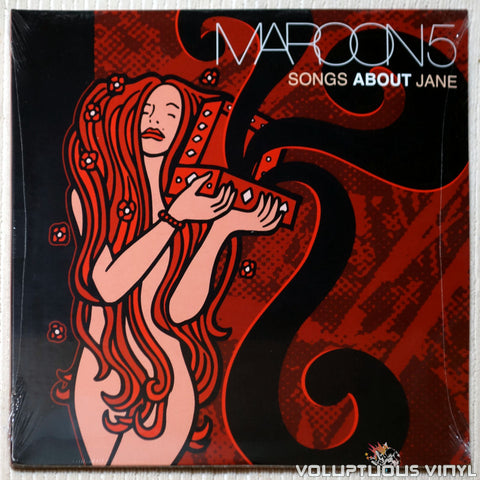 Maroon 5 ‎– Songs About Jane (2015) 2xLP, Tri-color Swirl