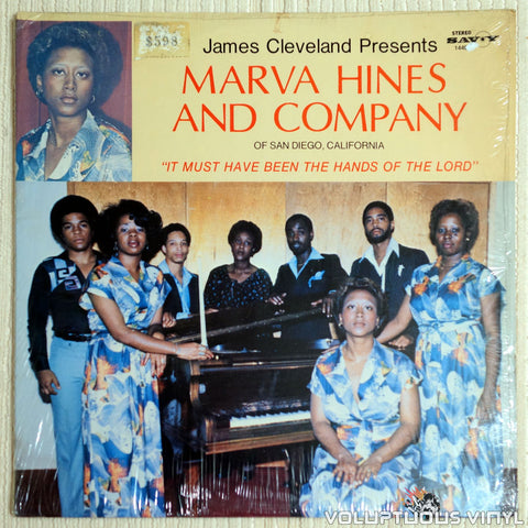 Marva Hines And Company ‎– It Must Have Been The Hands Of The Lord - Vinyl Record - Front Cover