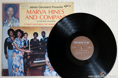 Marva Hines And Company ‎– It Must Have Been The Hands Of The Lord - Vinyl Record