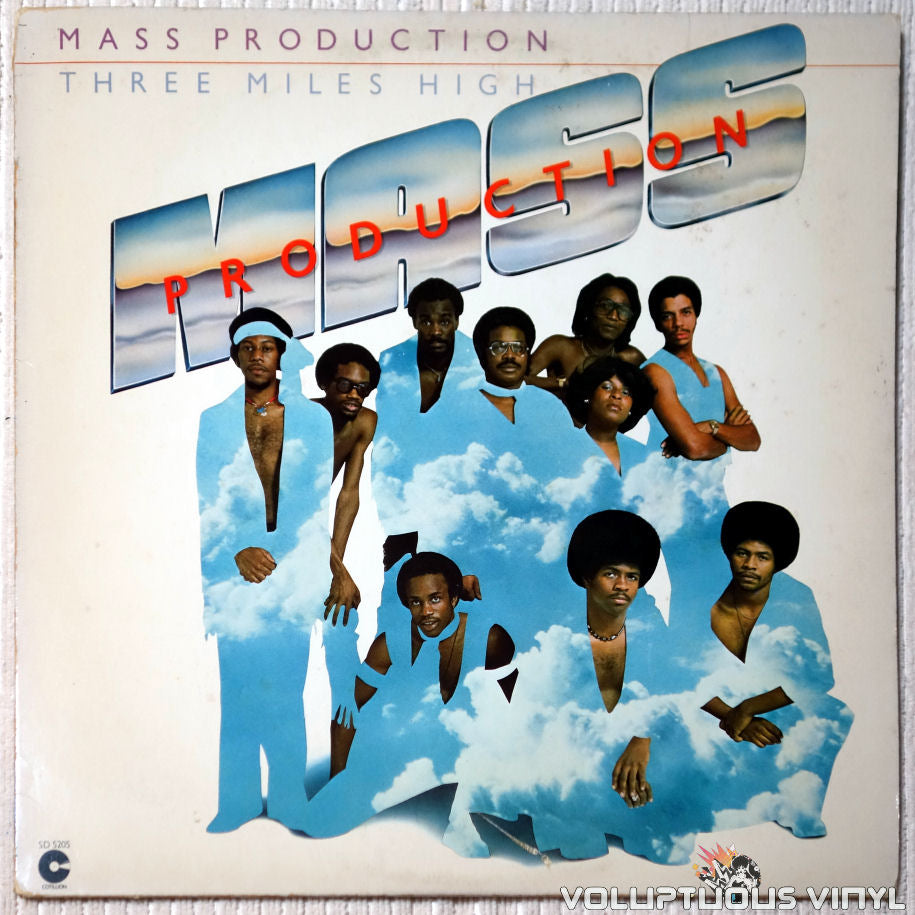 Mass Production ‎– Three Miles High vinyl record front cover