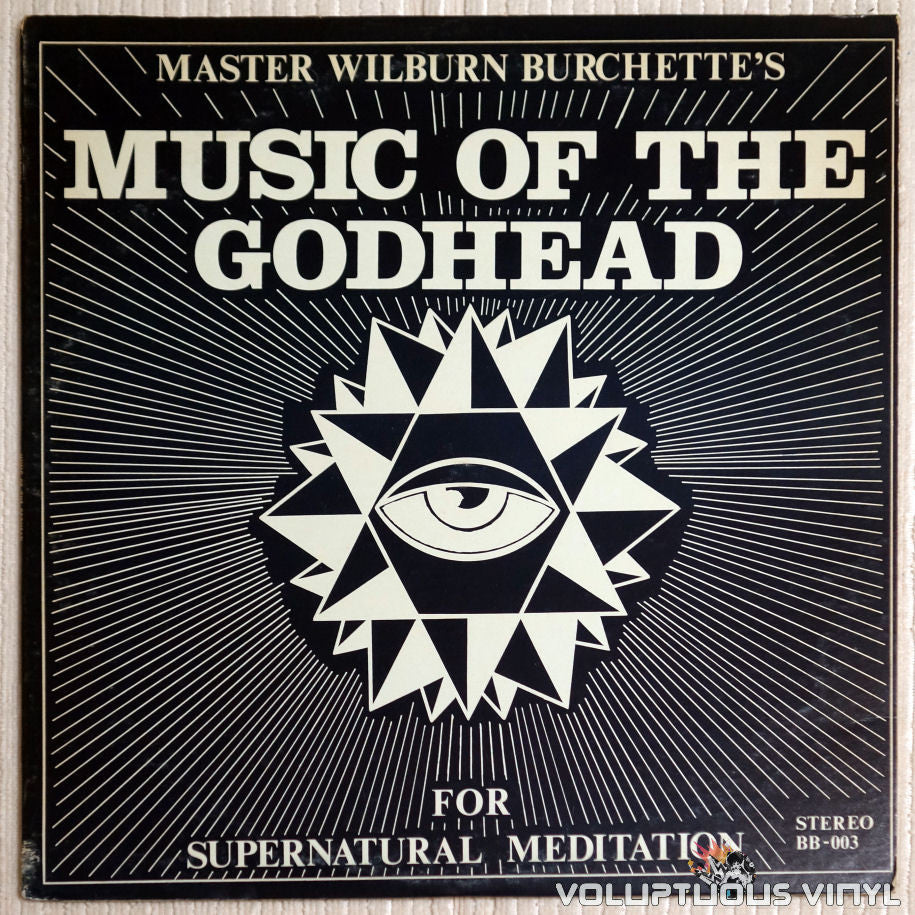 Master Wilburn Burchette ‎– Music Of The Godhead For Supernatural Meditation - Vinyl Record - Front Cover