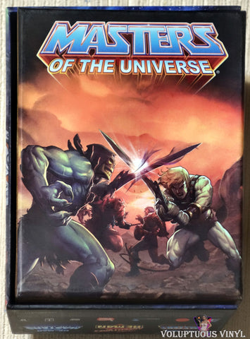 Masters Of The Universe - 30th Anniversary Limited Edition DVD box set back cover