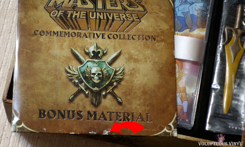 Masters Of The Universe - 30th Anniversary Limited Edition DVD bonus material minor damage