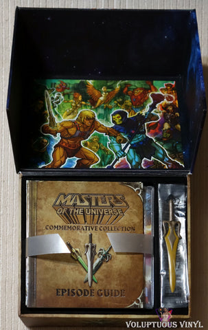 Masters Of The Universe - 30th Anniversary Limited Edition DVD box set inside