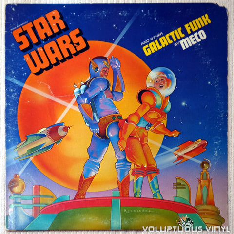 Meco ‎– Music Inspired By Star Wars And Other Galactic Funk - Vinyl Record - Front Cover