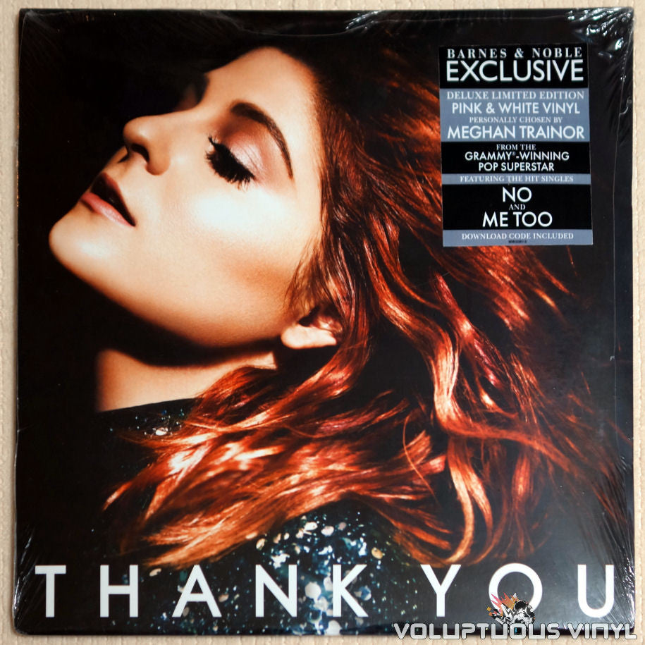 Meghan Trainor ‎– Thank You - Vinyl Record - Front Cover