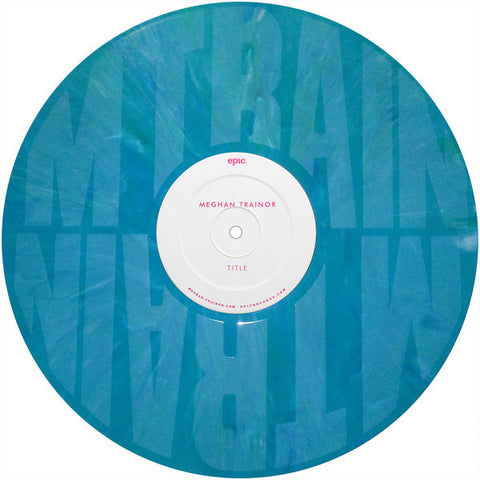 Meghan Trainor ‎– Title - Vinyl Record - Side D Etched Vinyl