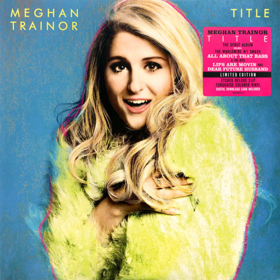 Meghan Trainor ‎– Title - Vinyl Record - Front Cover