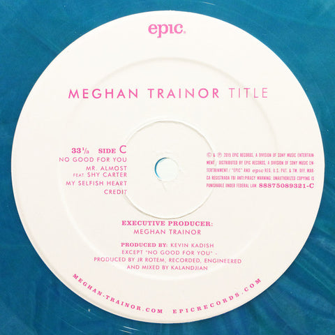 Meghan Trainor ‎– Title - Vinyl Record - Side C