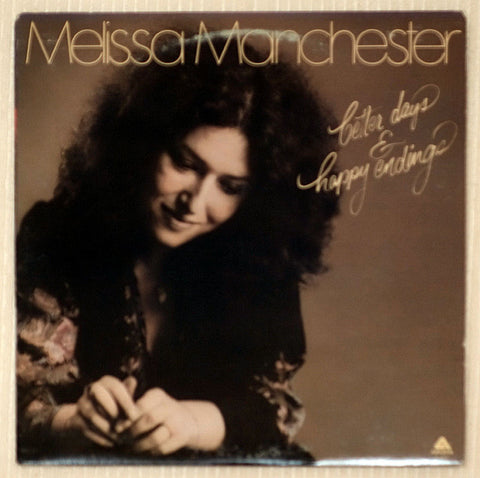 Melissa Manchester Vinyl Record Better Days & Happy Endings