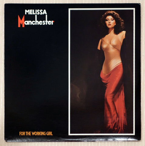 Melissa Manchester Vinyl Record For The Working Girl