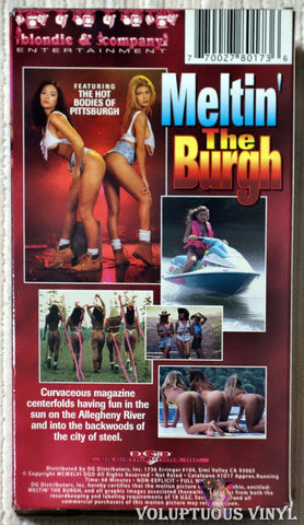 Meltin' The Burgh VHS tape back cover