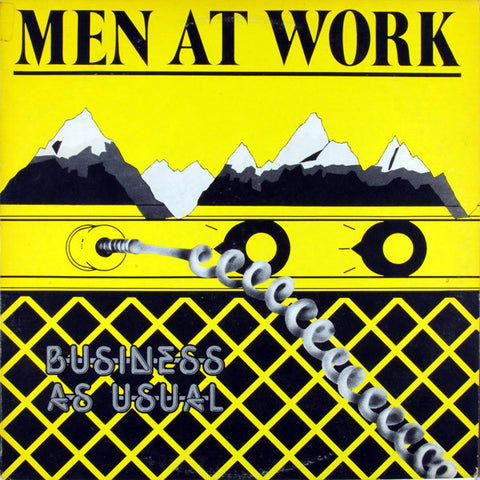 Men At Work ‎– Business As Usual (1982) Cheap Vinyl Record