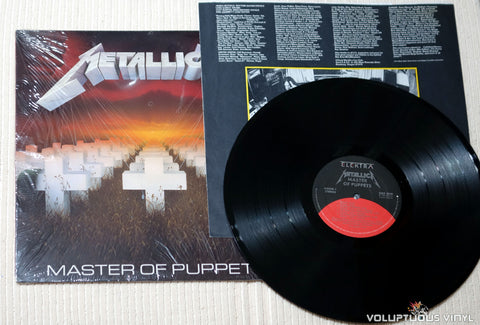 Metallica ‎– Master Of Puppets - Vinyl Record