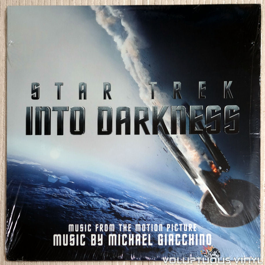 Michael Giacchino ‎– Star Trek Into Darkness - Vinyl Record - Front Cover