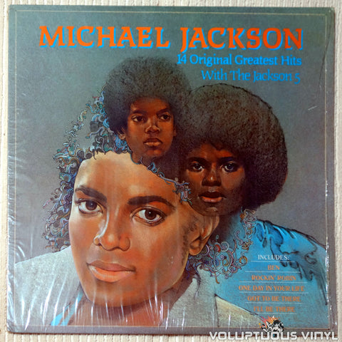 Michael Jackson With The Jackson 5 ‎– 14 Greatest Hits With The Jackson 5 (1984)