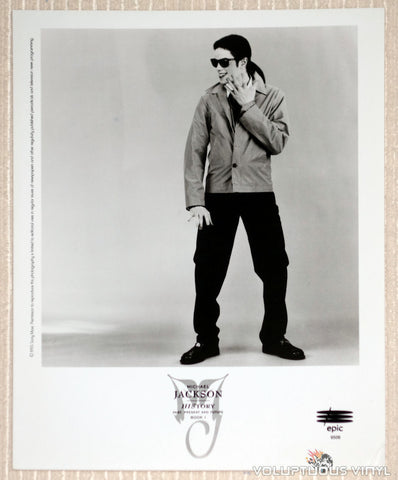 Michael Jackson - Epic Records - 1995 History Promotional Photo