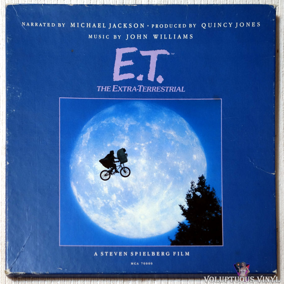Michael Jackson / John Williams ‎– E.T. The Extra-Terrestrial vinyl record front cover