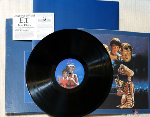 Michael Jackson / John Williams ‎– E.T. The Extra-Terrestrial vinyl record