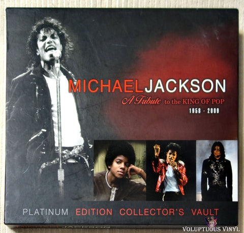 Michael Jackson Vault: A Tribute to the King of Pop 1958-2009 (2009) Hardcover Book