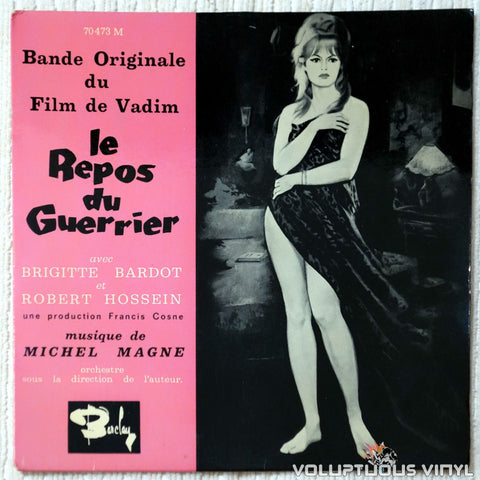 "Michel Magne ‎– Le Repos Du Guerrier (1963) 7"" EP, French Press"