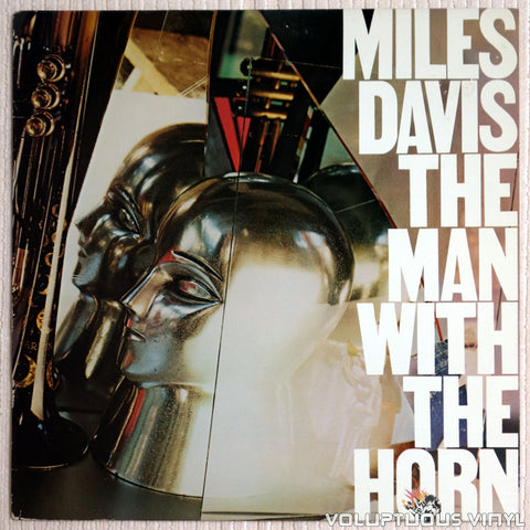 Miles Davis ‎– The Man With The Horn - Vinyl Record - Front Cover