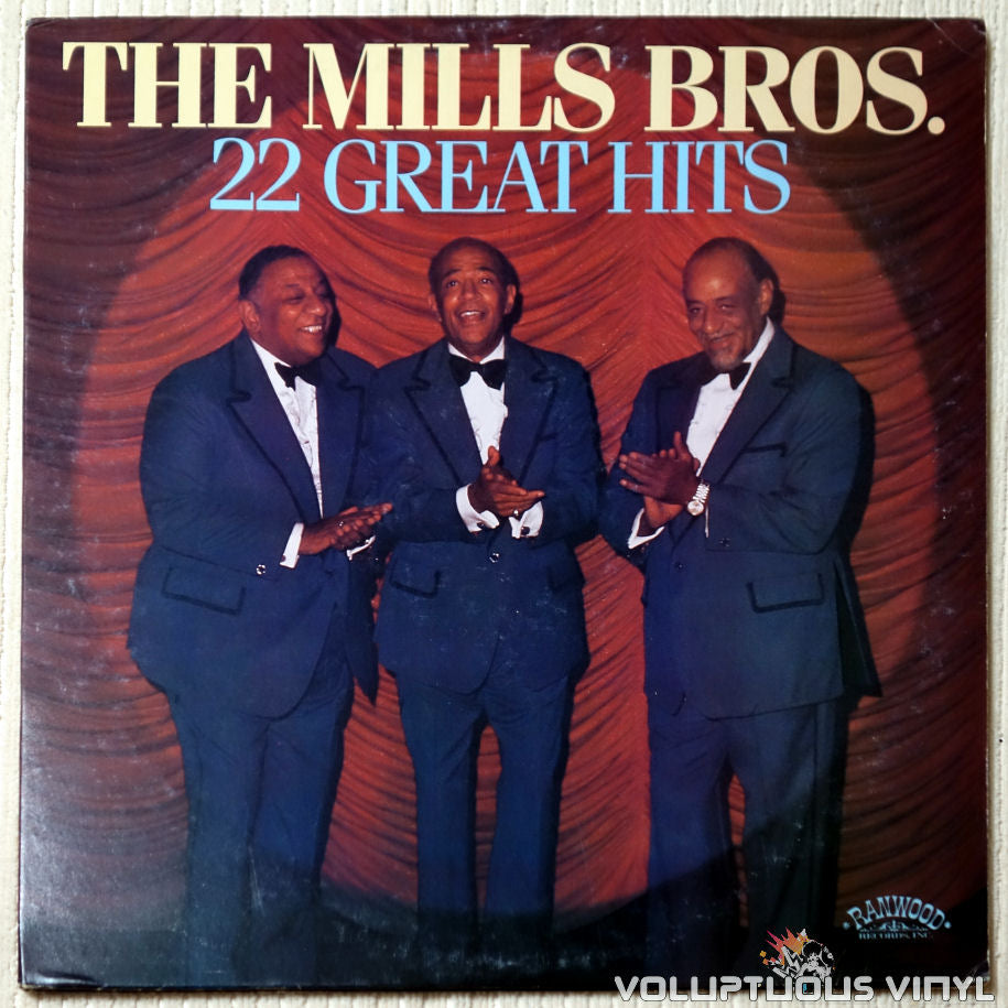 The Mills Brothers - 22 Great Hits - Vinyl Record - Front Cover