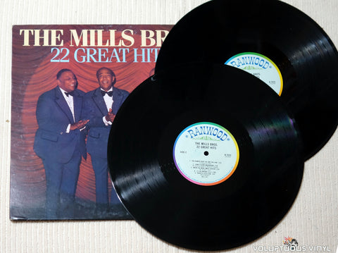 The Mills Brothers - 22 Great Hits - Vinyl Record