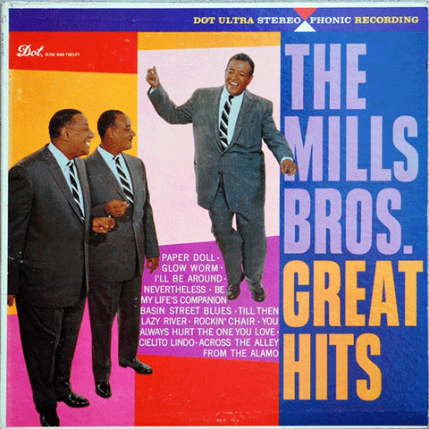 The Mills Brothers ‎– Great Hits (1959) Cheap Vinyl Record