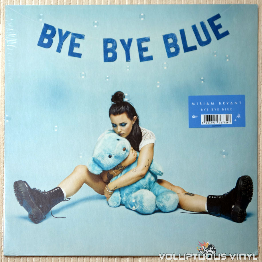 Miriam Bryant ‎– Bye Bye Blue (2017) SEALED Sweden Press, Autographed Card