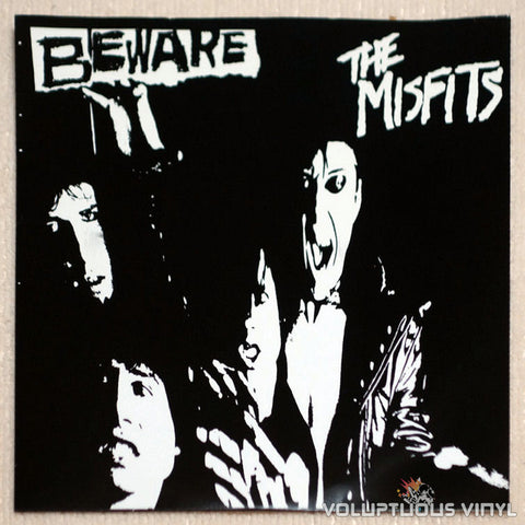 "The Misfits ‎– Beware 7"" EP (Unofficial Release)"