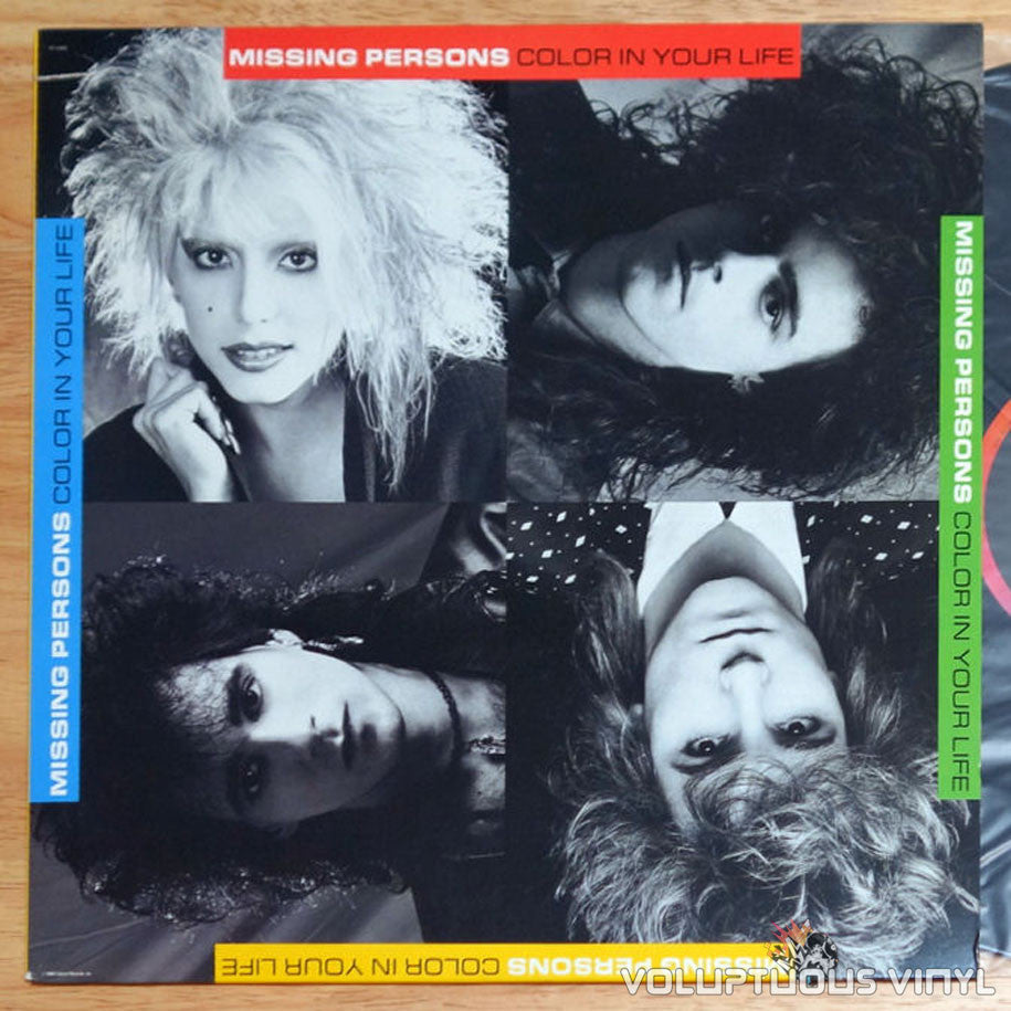 Missing Persons Color In Your Life 1986 Vinyl