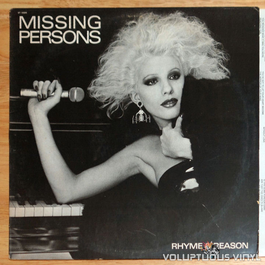 Missing Persons ‎Rhyme & Reason Vinyl Record