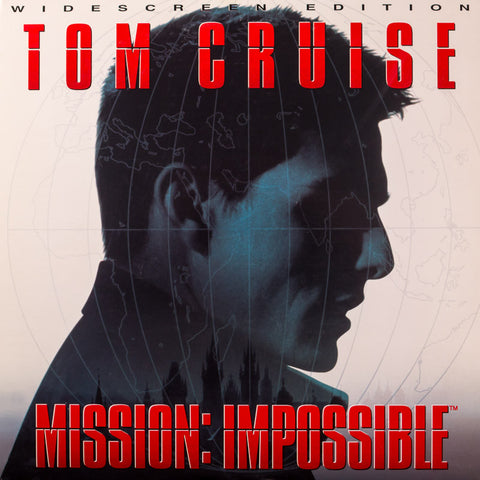 Mission: Impossible (1996) Tom Cruise LaserDisc