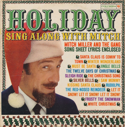 Mitch Miller And The Gang ‎– Holiday Sing Along With Mitch (1961) Vinyl Record