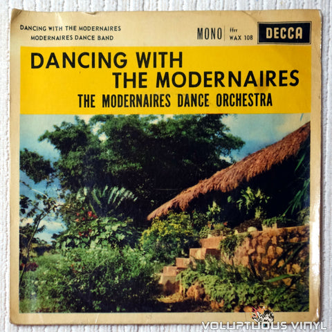The Modernaires Dance Orchestra ‎– Dancing With The Modernaires - Vinyl Record - Front Cover