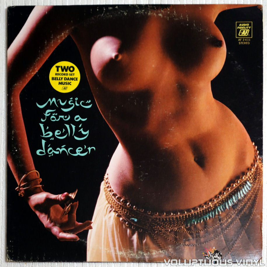 Mohammed El-Bakkar & His Oriental Ensemble ‎– Music For A Belly Dancer - Vinyl Record - Front Cover