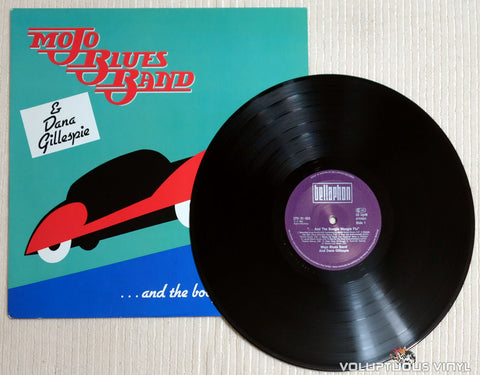 Mojo Blues Band & Dana Gillespie ‎– ...And The Boogie Woogie Flu - Vinyl Record